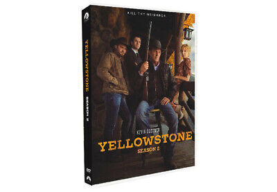 Yellowstone Season 2 (DVD, 2019) USPS free shipping