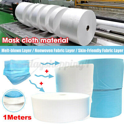 Melt-blown Nonwoven Fabric Face Skin-Friendly Fusible Craft Filter Interlining