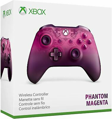 Microsoft Xbox One S Wireless Controller Phantom Magenta Special Edition New