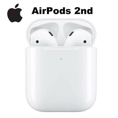 Apple AirPods 2nd Generation Charging Case In Ear iPhone iPad Earbuds Earphones