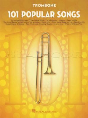 101 Disney Songs for Trombone Sheet Music Book Frozen Lion King Toy Story Moana