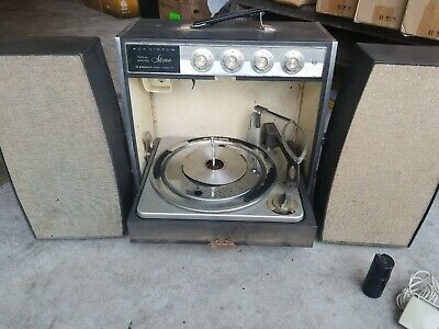 RCA Victor Stereophonic Record Player w/ Speakers  for parts or repair