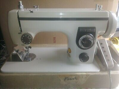 Vintage Janome New Home Sewing Machine Model 443S Case Pedal