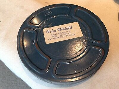"Rare MOTION PICTURE VINTAGE MOVIE FILM #3 of 35 ""TECHNO CRACKED"" reel"