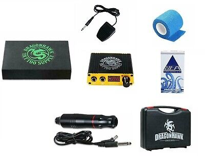 Dragonhawk Cartridge Tattoo Machine Kit Pen Rotary Tattoo Machine - DML-5