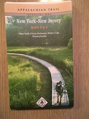 The Appalachian Trail New York - New Jersey Maps 3 & 4