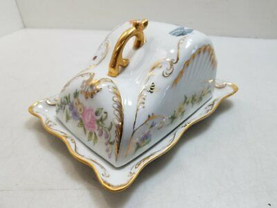 Hand Painted Ceramic Covered Dish
