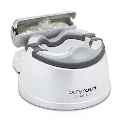 Baby Patent Clean Flush Potty 30 Flushable Liners Toddler Toilet Training
