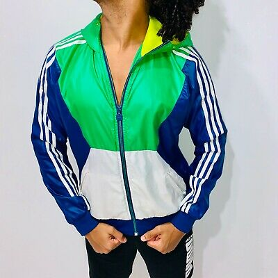 ADIDAS ORIGINALS CAL SURF JACKET Rare Vintage Windbreaker