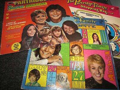 The Partridge Family - Collection Of Partridge Family Records - Lot Of 3 Lps