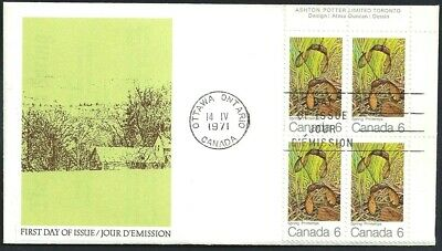 Canada   # 535 URpb    MAPLE LEAVES IN SPRING   Brand New 1971 Unaddressed Cover