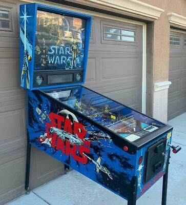 DATA EAST STAR WARS PINBALL MACHINE W/ LED's GREAT FAMILY GAME **FREE SHIPPING**