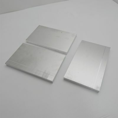 ".625"" thick  5/8  Aluminum 6061 PLATE  5.5"" x 8.375"" Long QTY 3  sku 175125"