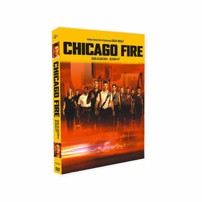 Chicago Fire Season 8 (DVD, 5-Disc Set) USA SELLER. Free and Fast Shipping!
