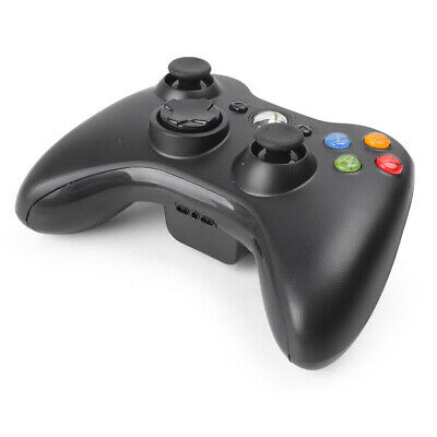Wireless Game Hand Controller Bar for Microsoft Xbox 360 Gamepad Joypad Black
