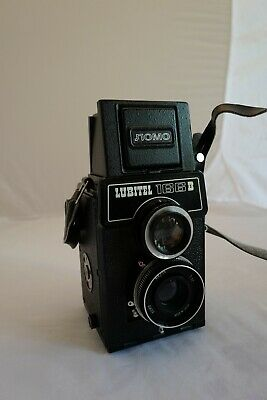 Vintage Lubitel 166b Russian TLR camera by LOMO for film. Used in VG condition.