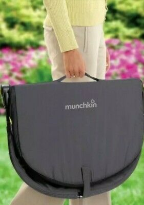 Munchkin Fold And Go Travel Bassinet. Compact And Lightweight