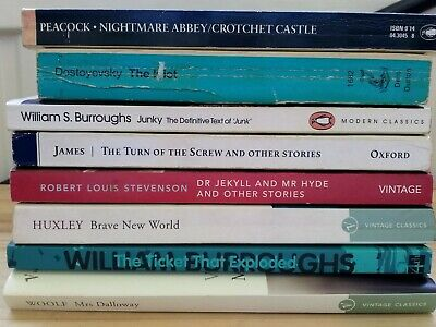 Classic Literature Collection 8 Titles