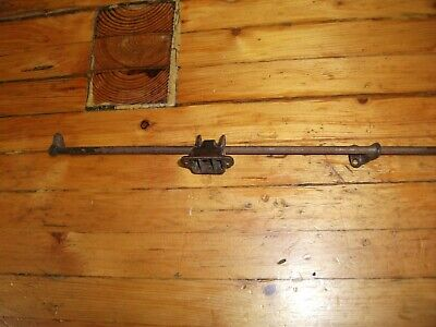 "Vintage Transom Window Opener - 36"" Rod - Squeeze Latch"