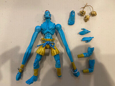 SOTA Toys Dhalsim Street Fighter Action Figure Blue, Loose