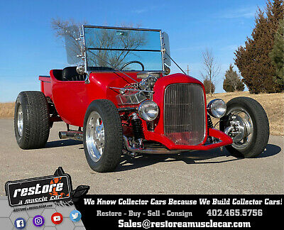 """1923 Ford Model T , Pro Built, 350ci, Auto, Ford 9"""", 4 Whl Disc 1923 Red T-Bucket, Pro Built, 350ci, Auto, Ford 9"""", 4 Wheel Disc Brakes"""