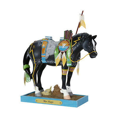 The Trail of Painted Ponies War Magic Figurine Enesco New In Box