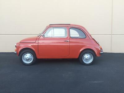 1975 Fiat 500 R 1975 FIAT 500R - Red - Sunroof Top - Black Interior - Runs and Looks Great -