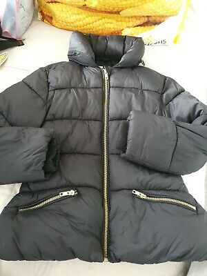 Girls Winter Coat / Jacket Age 7-8 Years From M&s