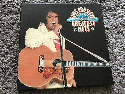 Elvis Presley Greatest Hits 6 Vinyl Box Set Each Record As Picture Cover