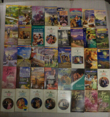 Lot of 84 Harlequin romance books mixed