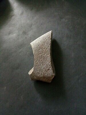 Finely sculpted, small prehistoric Native American, basalt hand tool