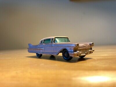 Old 1960 Matchbox Lesney - 1960 Cadillac Sixty Special No. 27
