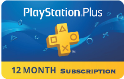 Playstation Plus 12 months Membership Code - PS+ US | CANADA