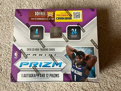 2019-2020 Panini Prizm NBA Retail Pack from Sealed Box +1 FREE 2019 PRIZM CARD