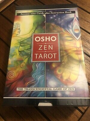 Osho Zen Tarot Deck Cards Esoteric Telling Book Set Us Games Systems New