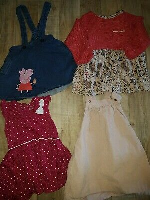 12-18 Months Girls Dresses , Next Peppa Pig,  M&S & Young Dimensions Bundle