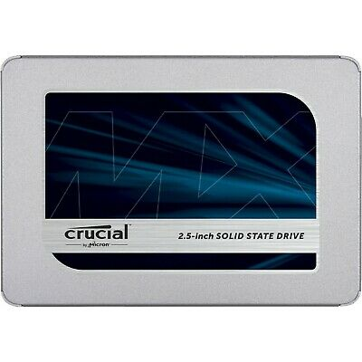 "Crucial MX500 500 GB 2.5"" Internal Solid State Drive - SATA (ct500mx500ssd1)"