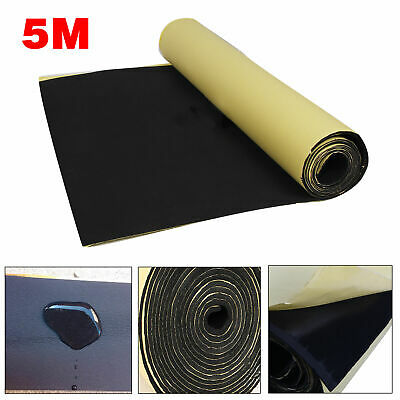 5M Self Adhesive Car Sound Proofing Deadener Insulation Roll Closed Cell Foam UK