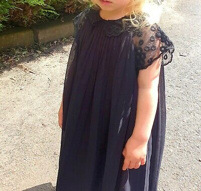 TED BAKER (best) girls dress 2-3 years.Black. EXCELLENT CONDITION