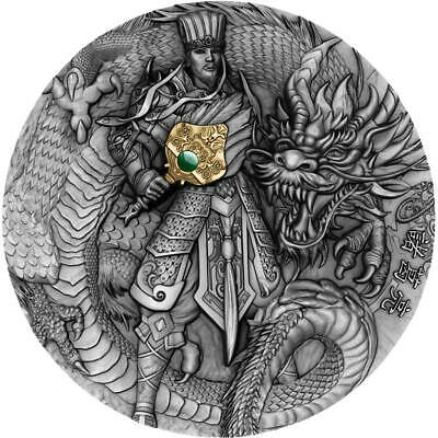 2020 Niue 2 oz Chinese Warriors Zhuge Liang Ultra High Relief Silver Coin