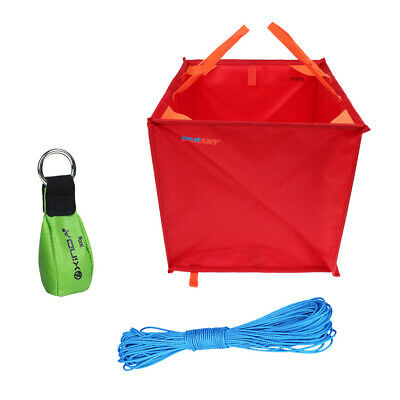 Tree Arborist Climbing Rope Deploy Cube Bag Throw Line 300g Throw Weight