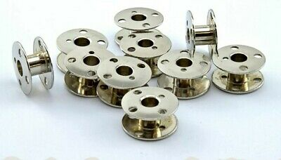 10 Bobbins For Singer Sewing Machines 201K, 99K, 66K,185K