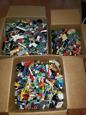 Lego 1 to 50 Pound LB LBS Parts Pieces HUGE BULK LOT Washed & Sanitized city