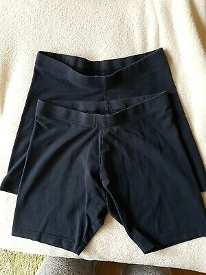 Next Cycle / Sports Shorts School PE 2 Pairs Navy Blue Age 11