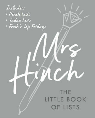 The Little Book of Lists by Mrs Hinch (2020, Hardcover) Free Express Delivery