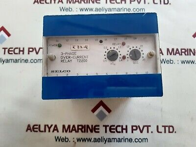 Selco t2200 3-phase overcurrent relay t2200-00