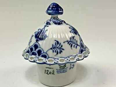 Royal Copenhagen Blue Fluted Full Lace Full Size Coffee Pot Lid ONLY