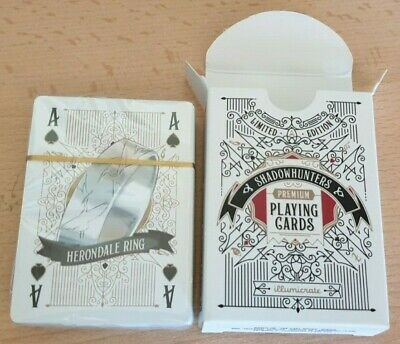 Illumicrate Limited Edition SHADOWHUNTERS PLAYING CARDS: Cassandra Clare