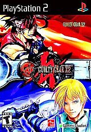 Guilty Gear X2 (Sony PlayStation 2, PS2, 2003) COMPLETE