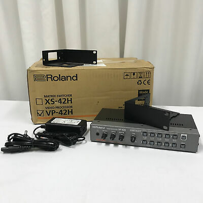 Roland VP-42H Video Processor Factory Re-Certified